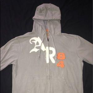american rag zipper hoodie
